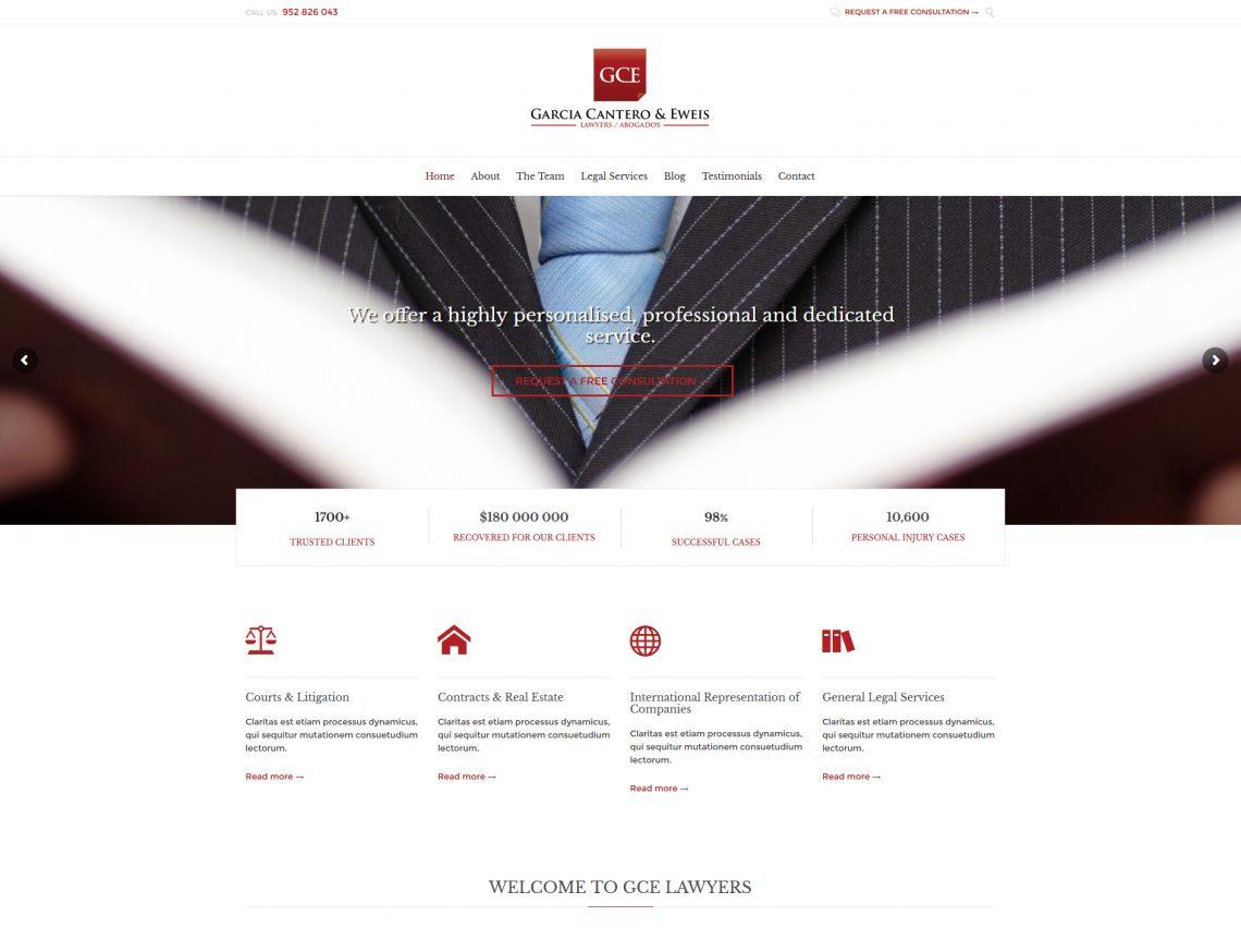 GCE Lawyers Website